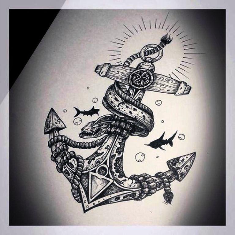 TattooMix Dövmecim çapa anchor dövmeleri (2)