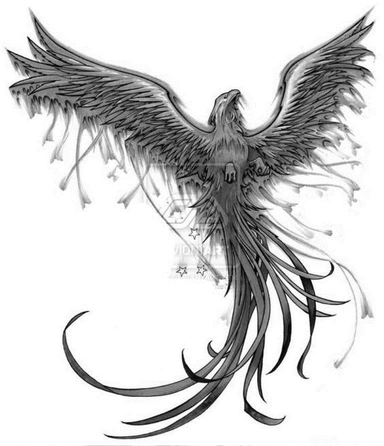 TattooMix Dövmecim anka phoneix dövmeleri (12)