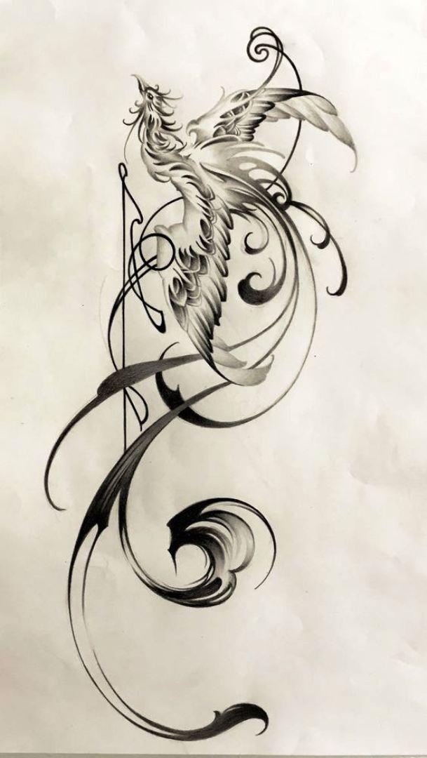TattooMix Dövmecim anka phoneix dövmeleri (3)