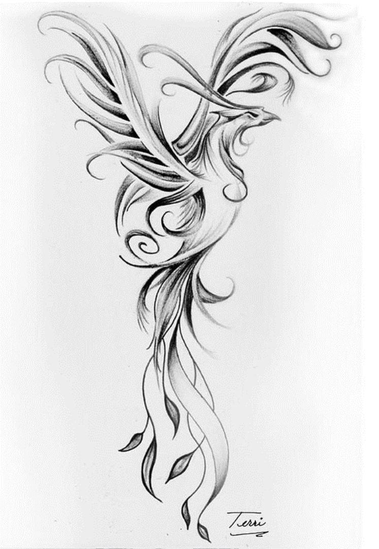 TattooMix Dövmecim anka phoneix dövmeleri (5)