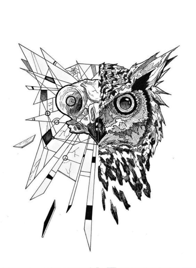 TattooMix Dövmecim baykuş owl dövmeleri (3)
