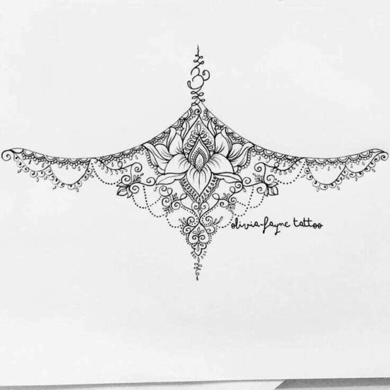 TattooMix Dövmecim göğüs dövmeleri (3)
