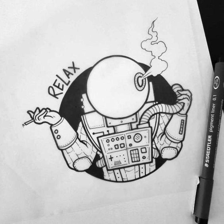TattooMix Dövmecim gezegen uzay dövmeleri (2)
