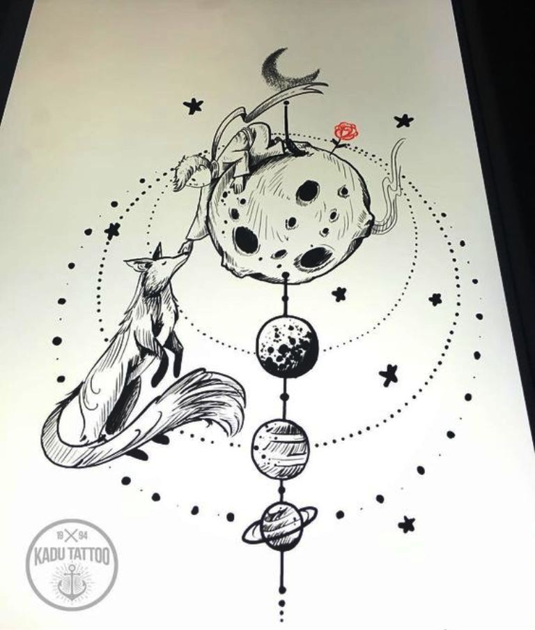 TattooMix Dövmecim küçük prens dövmeleri (11)