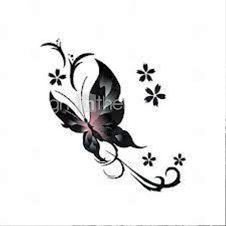 TattooMix Dövmecim kelebek dövmeleri (2)
