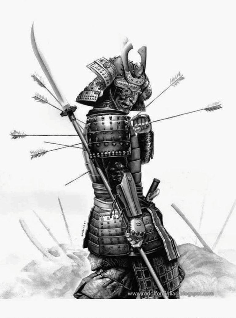 TattooMix Dövmecim samurai geyşa dövmeleri (10)