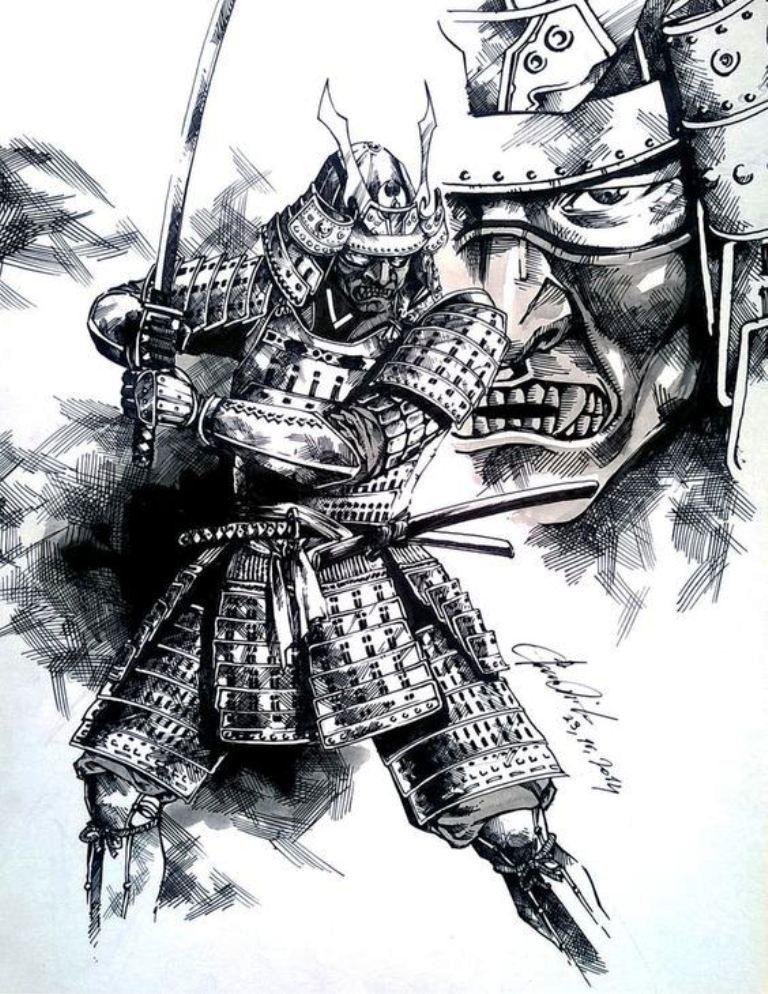 TattooMix Dövmecim samurai geyşa dövmeleri (14)