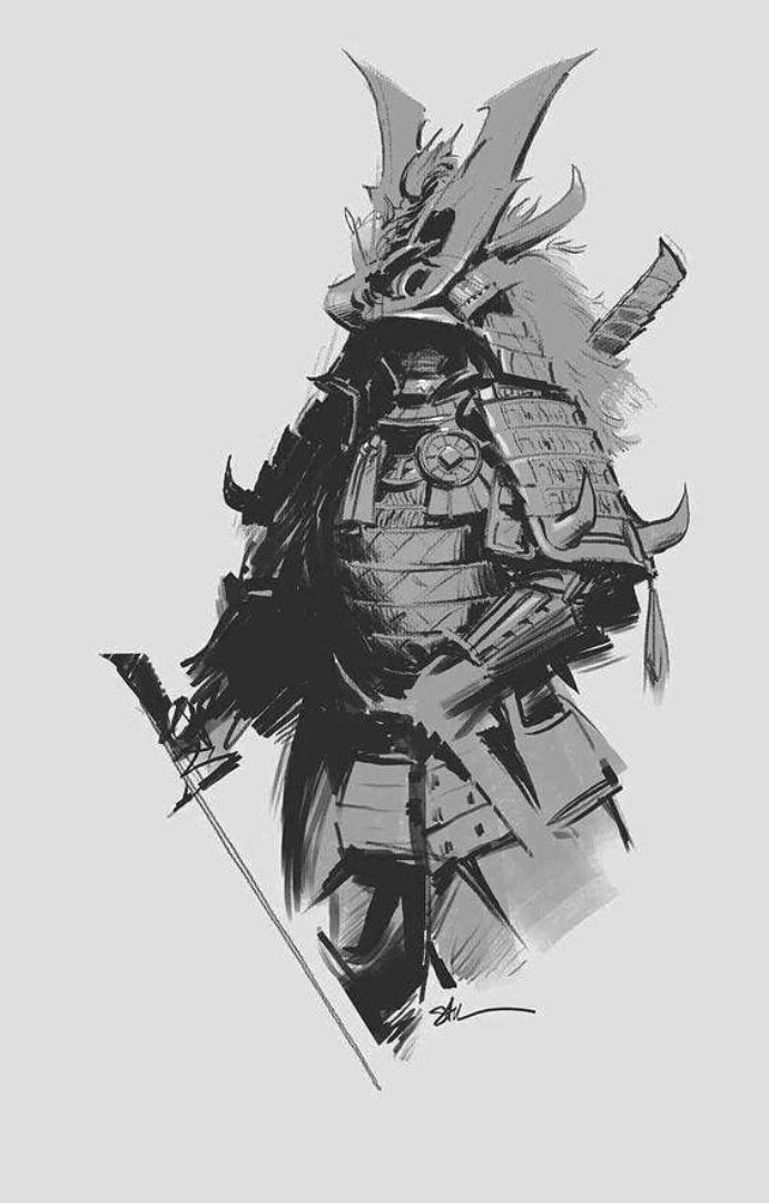 TattooMix Dövmecim samurai geyşa dövmeleri (17)