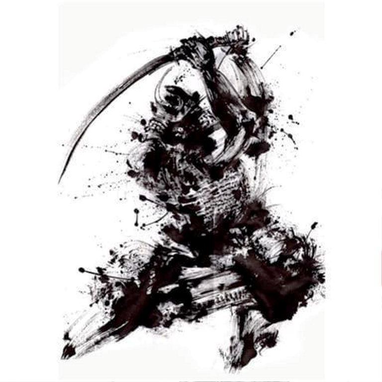 TattooMix Dövmecim samurai geyşa dövmeleri (3)
