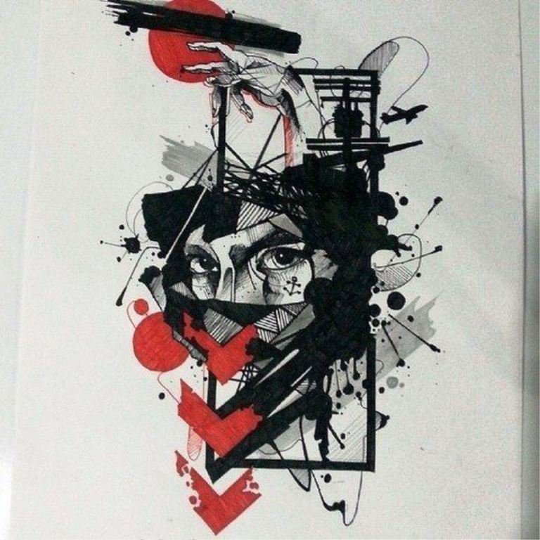TattooMix Dövmecim trash polka dövmeler (9)