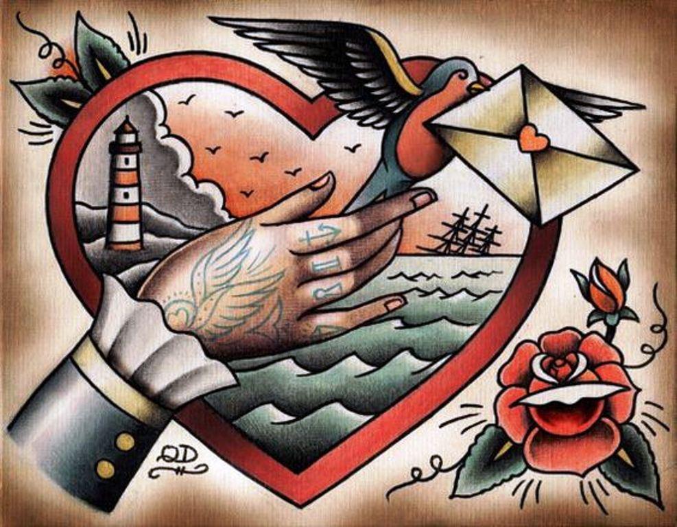 TattooMix Dövmecimgeleneksel old school dövmeleri (5)