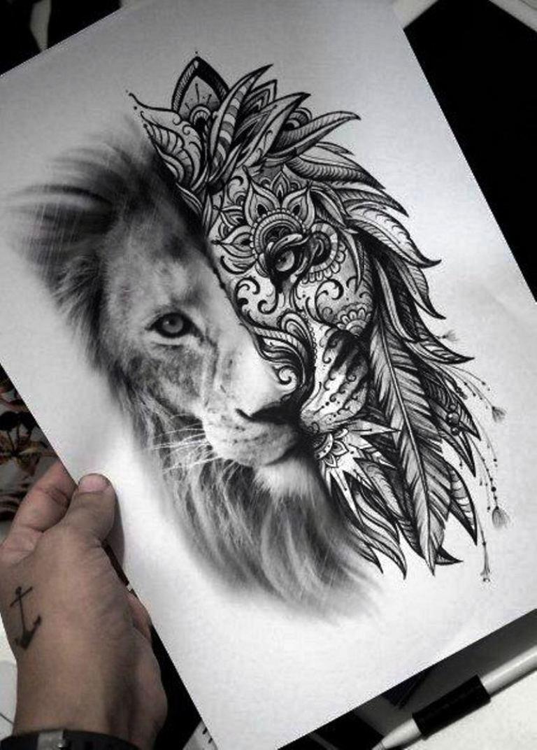 tattoo mix dövmecim aslan dövmeleri (1)