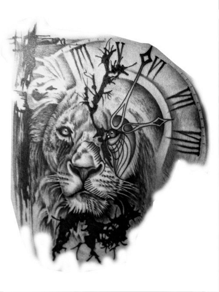 tattoo mix dövmecim aslan dövmeleri (4)