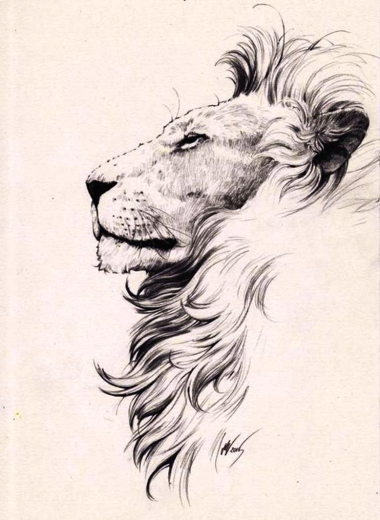 tattoo mix dövmecim aslan dövmeleri (8)