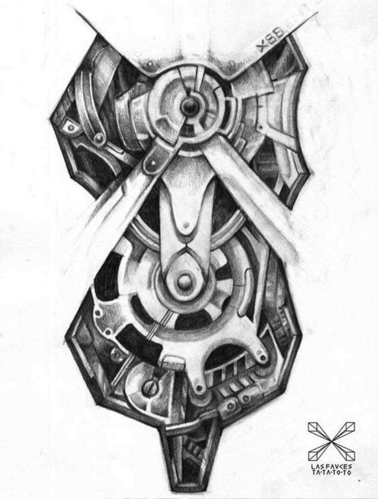 tattoo mix dövmecim biomekanik dövmeler (2)