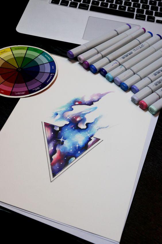 tattoo mix dövmecim galaksi dövmeleri (12)