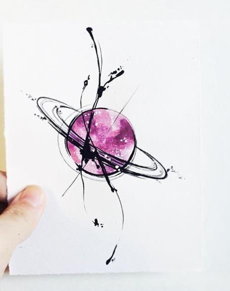 tattoo mix dövmecim galaksi dövmeleri (2)