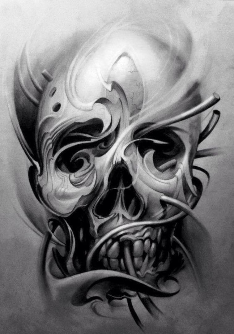 tattoo mix dövmecim kurukafa skull dövmeleri (17)
