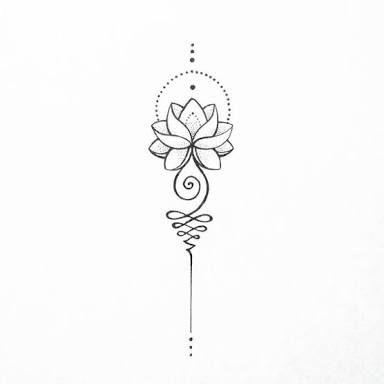 tattoo mix dövmecim unalome dövmeler (4)