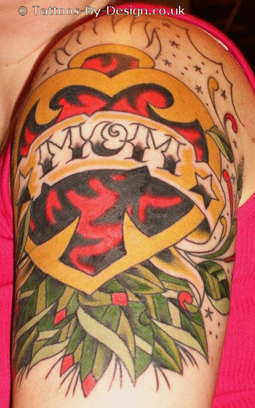 Eat your heart out, Mom! ETs MOM Tattoo Don't gripe, Grim Reapers,