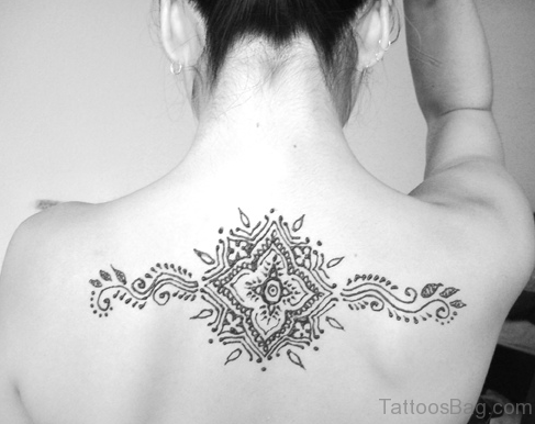bright henna tattoos