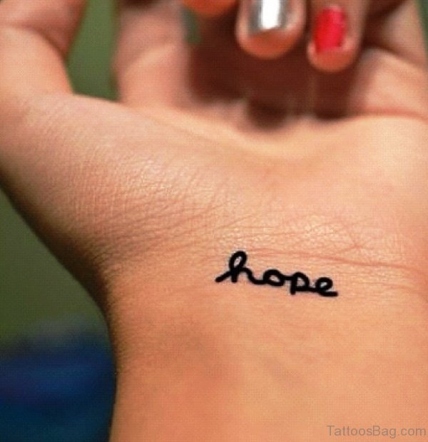 20 Hope Wrist Tattoos For Girls Cool Ideas And Designs