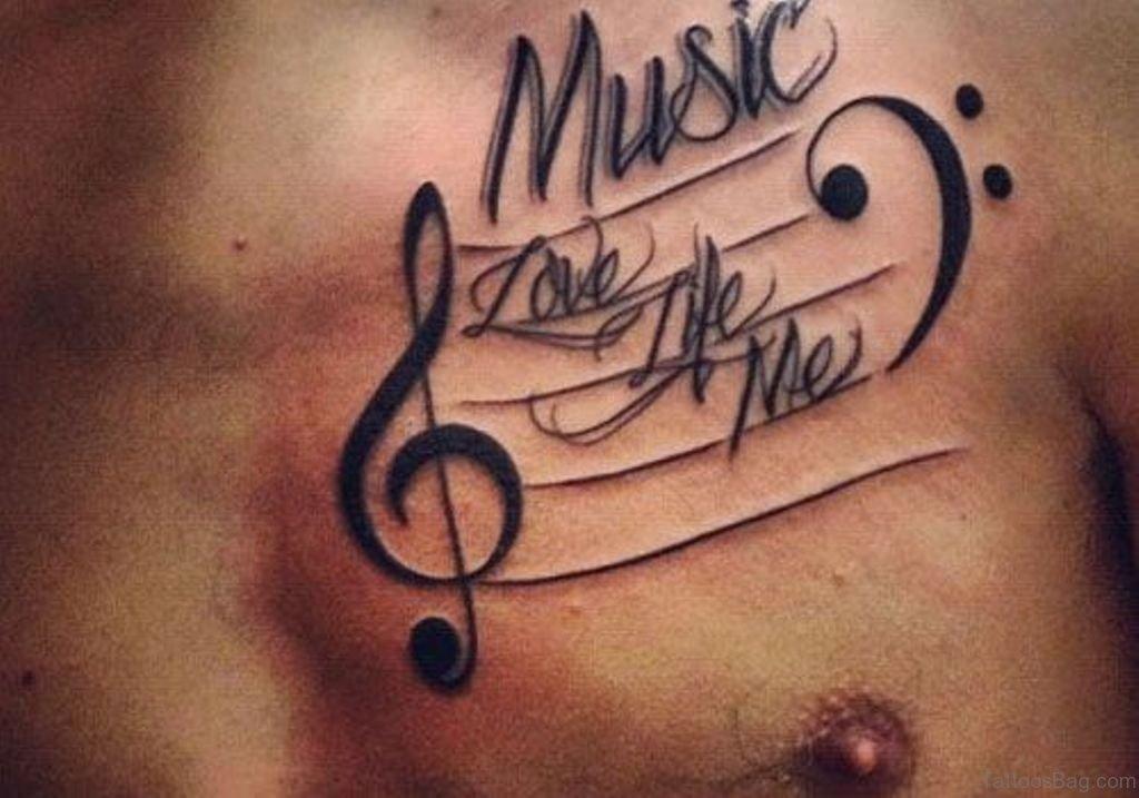 Music Symbol Tattoo Designs