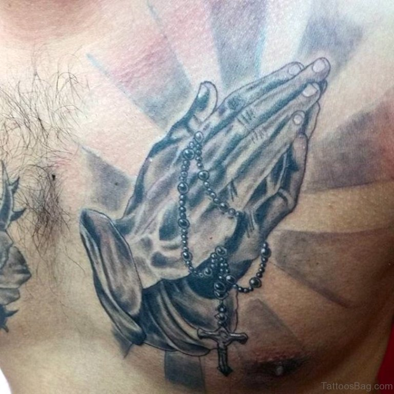 San Judas Tattoo On Hand