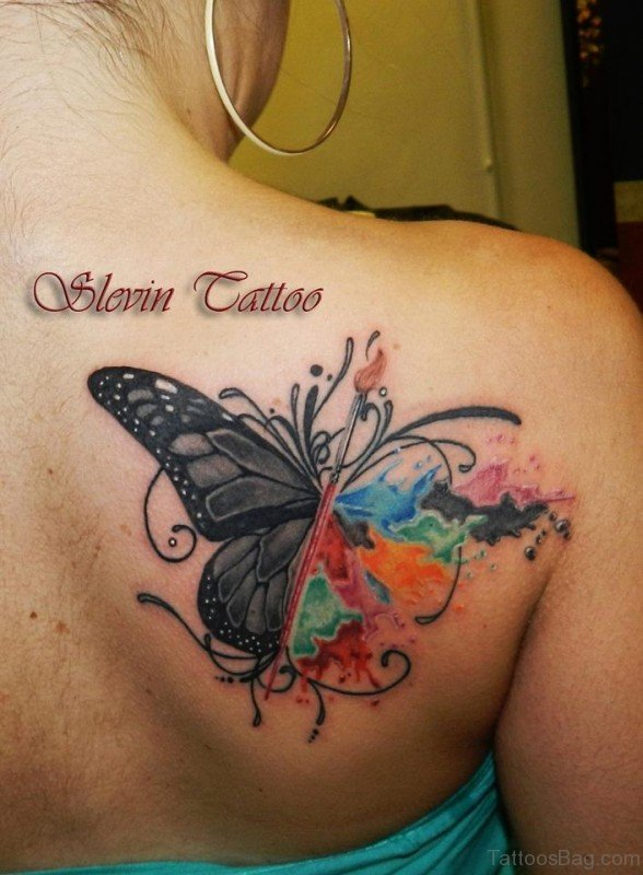20 Quote Butterfly Tattoos On Shoulder Blade Ideas And Designs