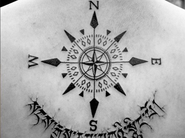 20 Small Anchor And Compass Tattoos Women Ideas And Designs