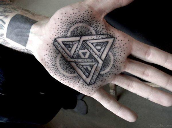 outstanding geometric tattoos