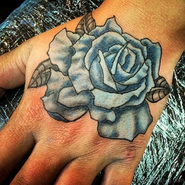 20 Blue Rose Tattoos For Men Ideas And Designs