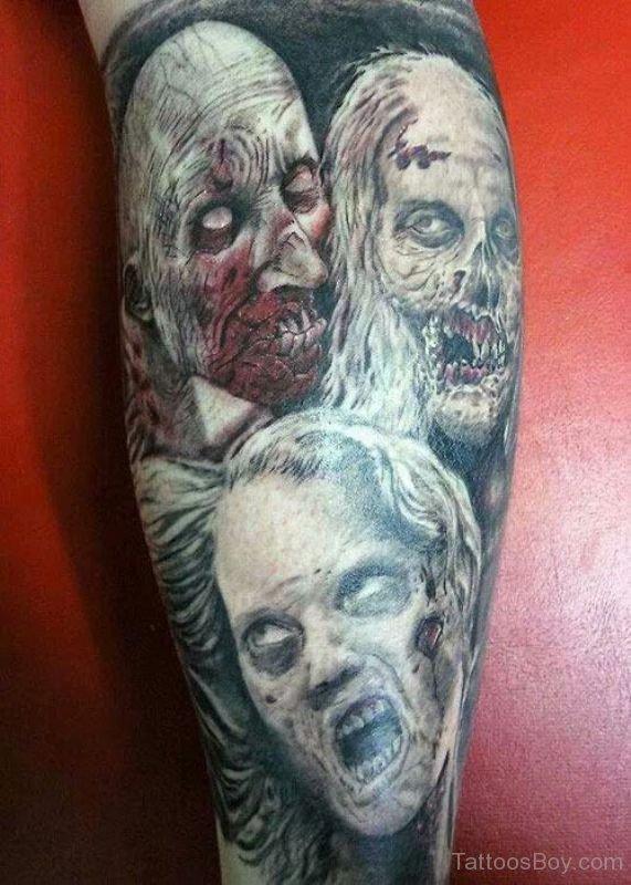 zombie tattoos tattoo design