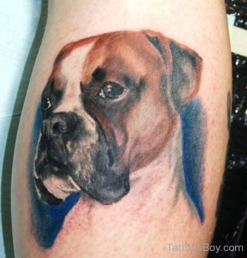 8959c8318 20 Halloween Dog Face Tattoos Ideas And Designs
