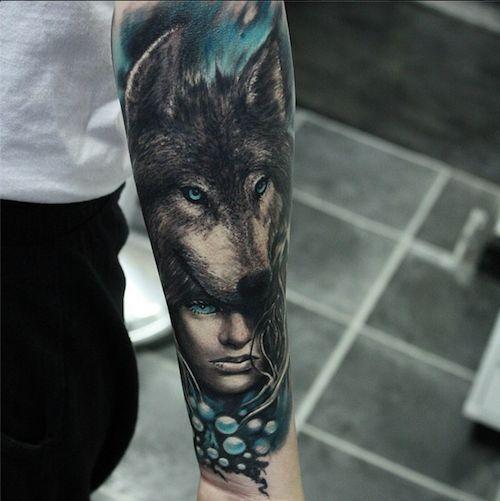 Best Wolf Tattoos Designs 99