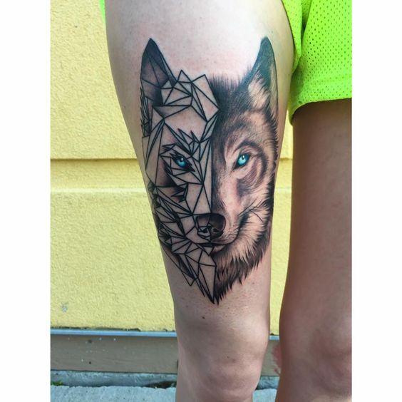 Best Wolf Tattoos Designs 89