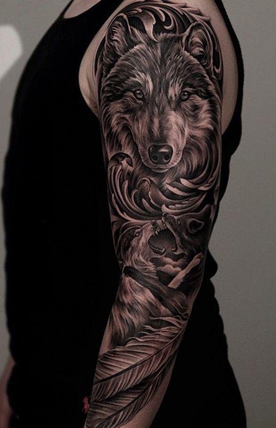 Best Wolf Tattoos Designs 107