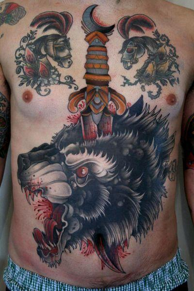 Best Wolf Tattoos Designs 104