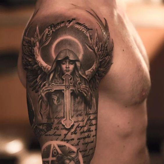 Remarkable Angel Tattoos (5)