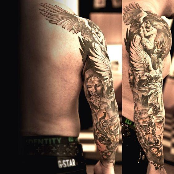 Remarkable Angel Tattoos (6)