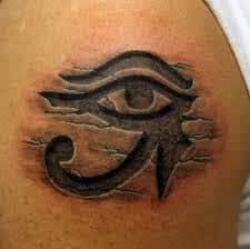Eye Of Ra Tattoo Ideas