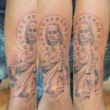 20 Sleve San Judas Tadeo Tattoos Designs Ideas And Designs