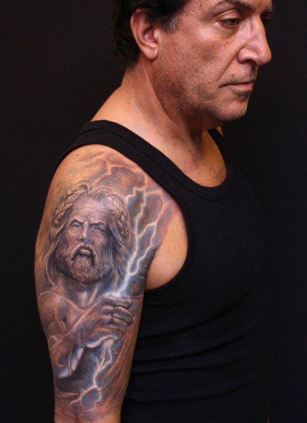 King Neptune Tattoo Designs