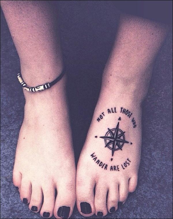 Cute Small Leg Tattoos For Girls