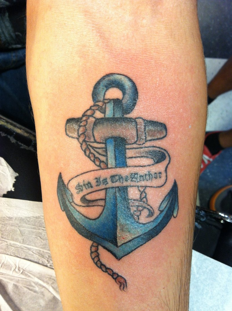 Anchor Tattoos Designs. Ideas and Meaning   Tattoos For You