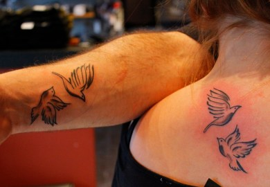 Beautiful Bird Tattoo Designs For Girls