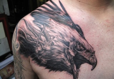 Traditional Eagle Tattoo Designs