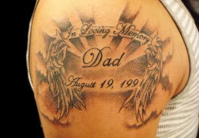 Memorial Tattoo Ideas For Dad