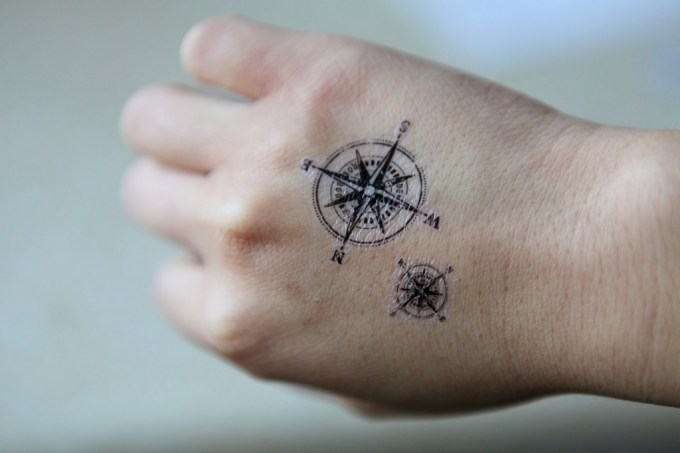 Compass Tattoos Designs, Ideas and Meaning | Tattoos For You