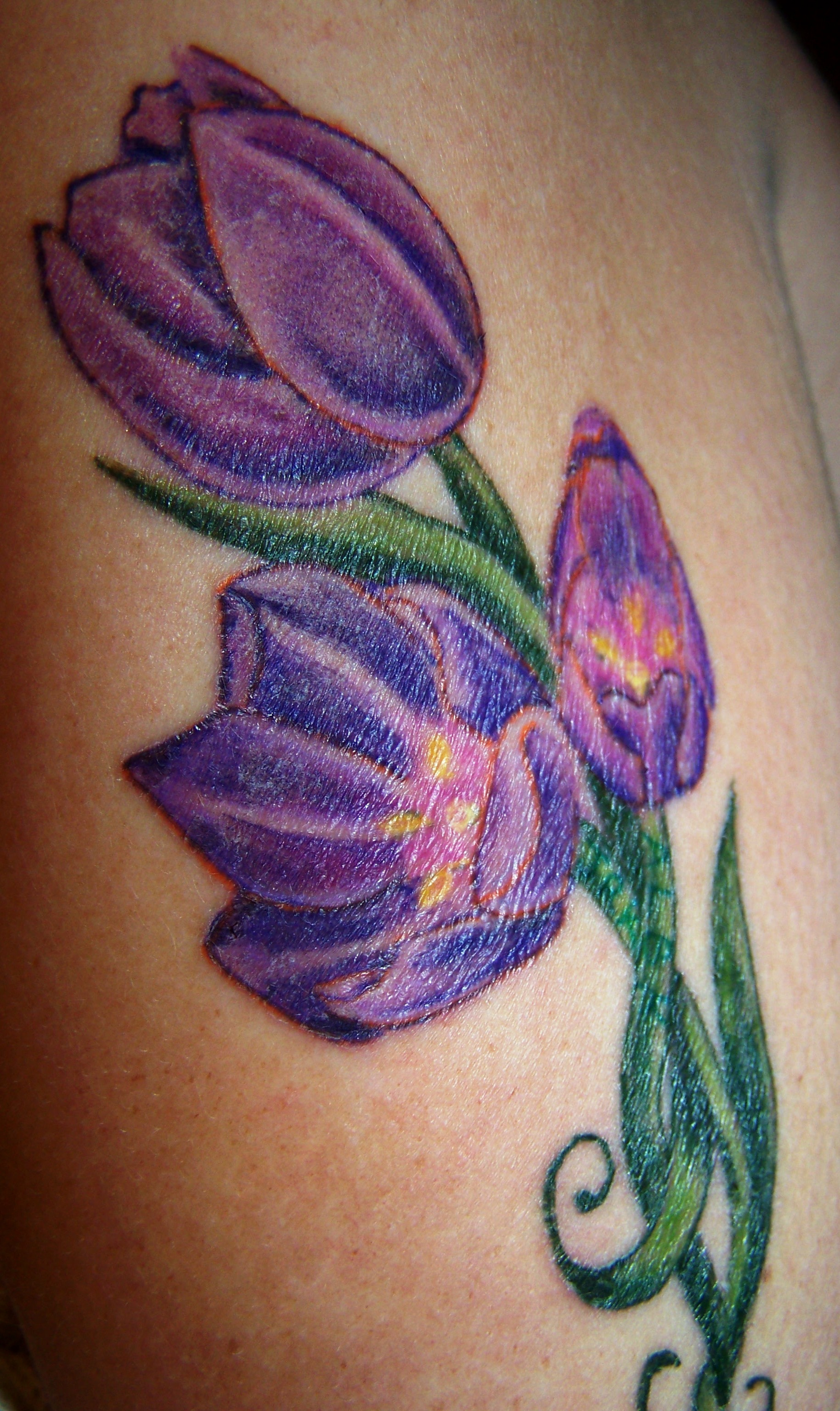 Purple Lotus Flower Tattoo Meaning